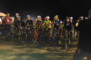 Partenza Ciclocrosscampoverde Aprilia