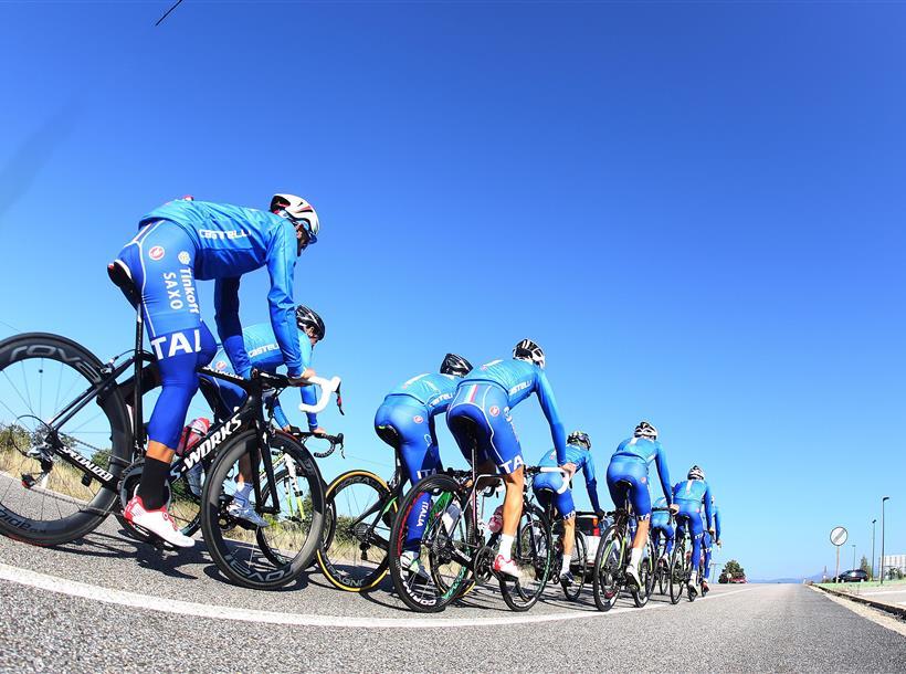 Azzurri allenamento