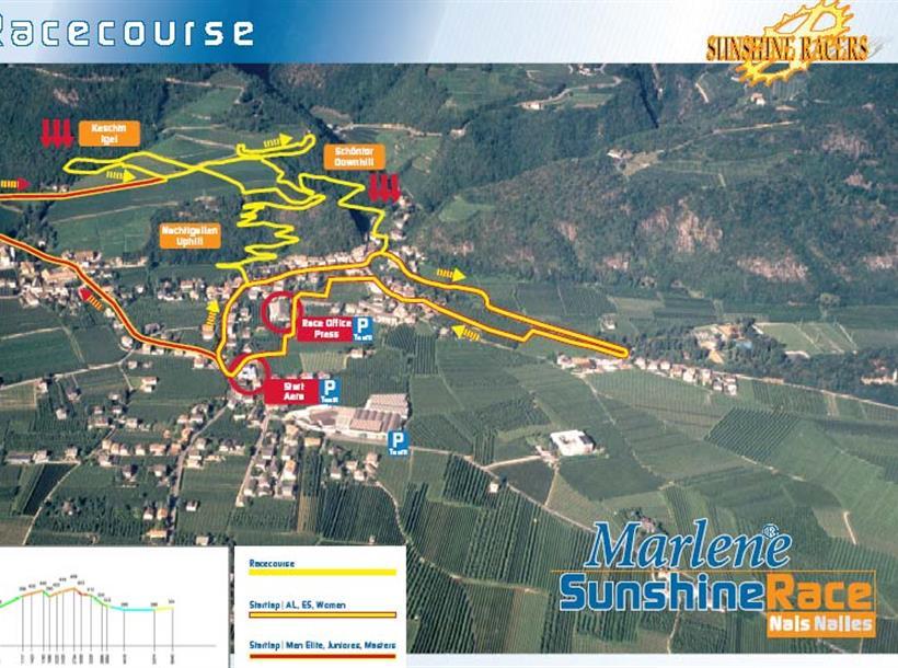 Percorso Marlene Sunshine Race