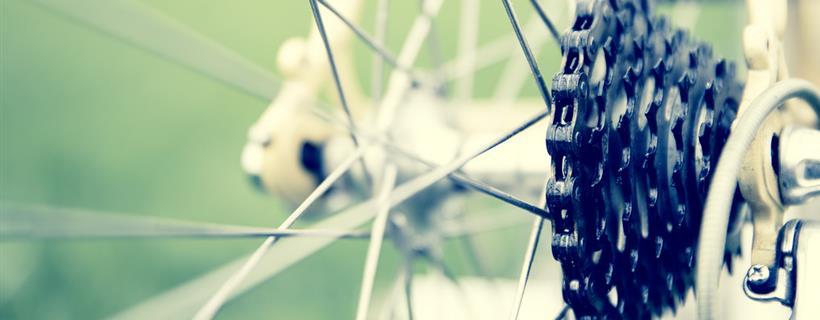 particolare bicicletta
