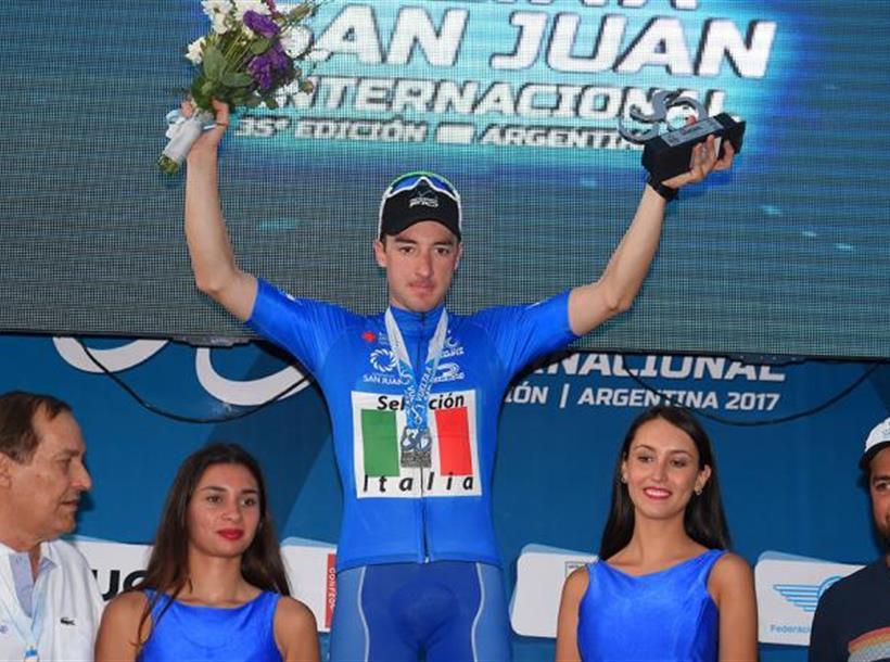 Viviani Leader Vuelta