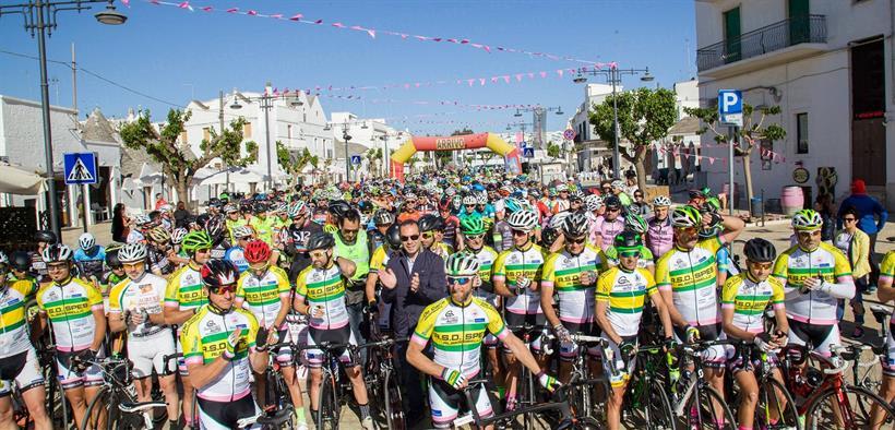 GF Alberobello Murge 070502017 Partenza Granfondo