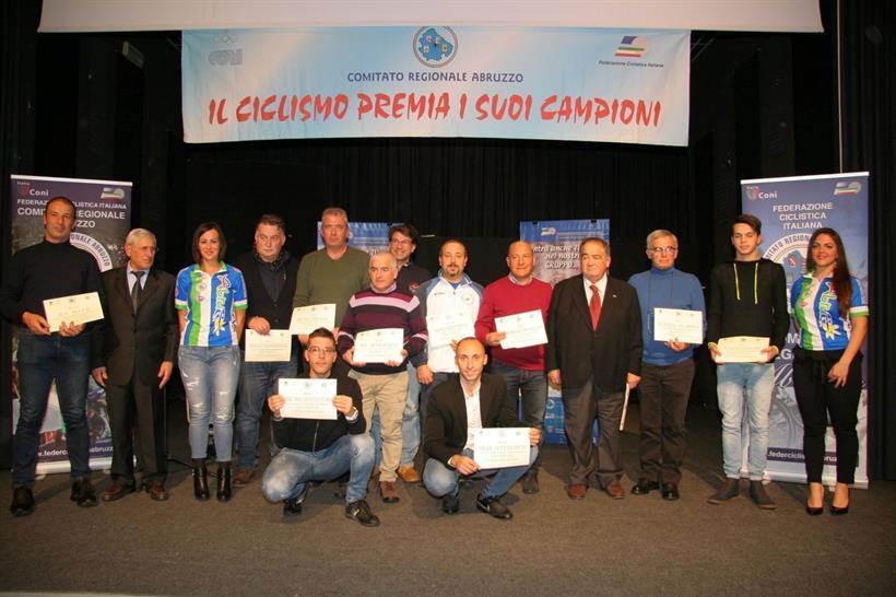 Festa del ciclismo abruzzese a Castelnuovo Vomano