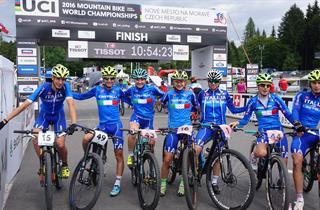 Teocchi, Braidot, Berta, Mondiali MTB 2016
