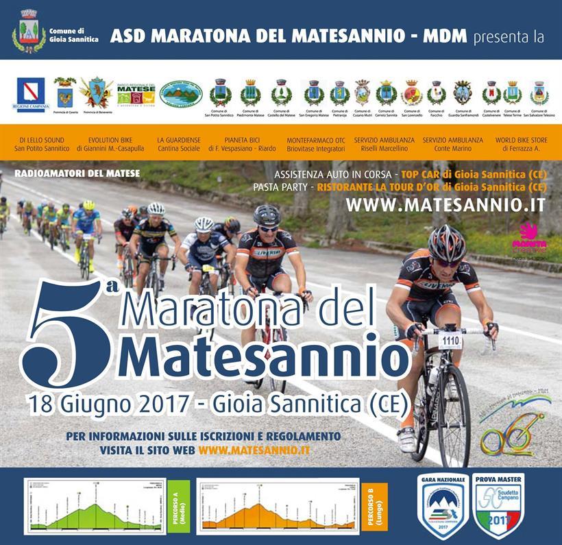 Maratona Del Matesannio 18062017 Locandina