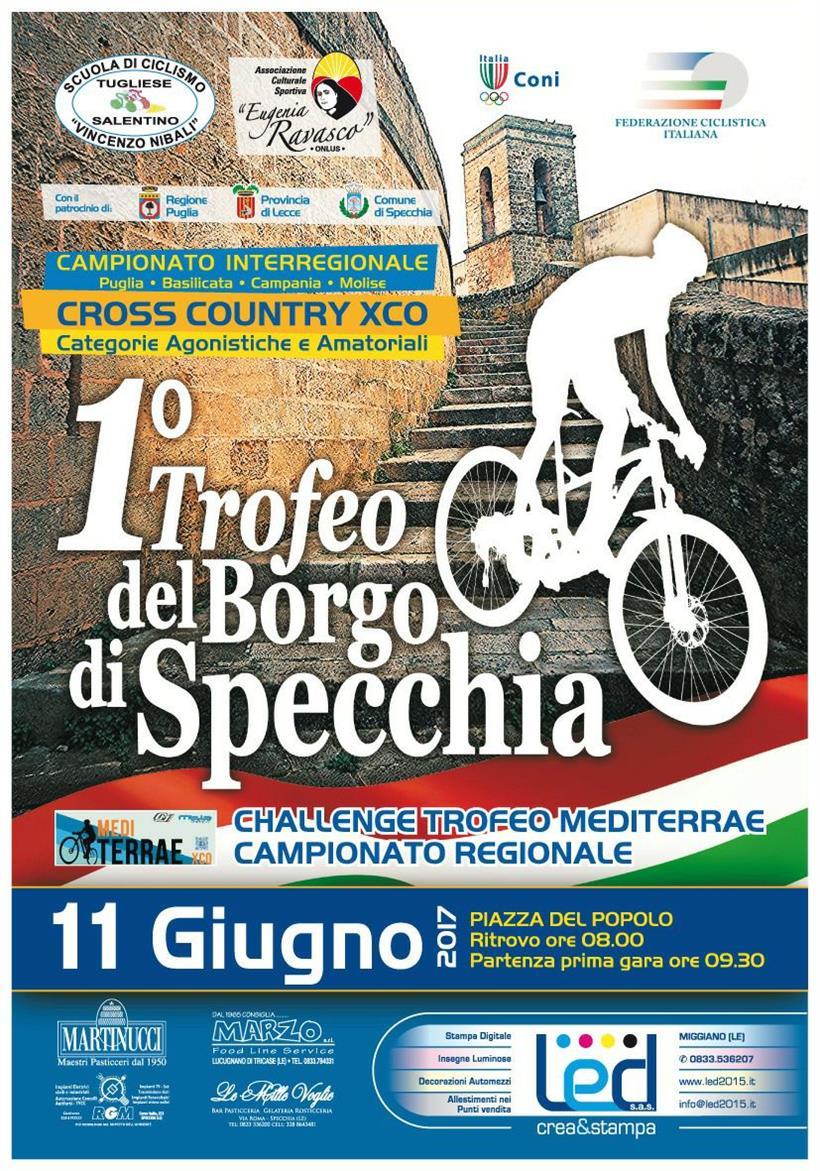 Trofeo Borgo Di Specchia 11062017 Locandina