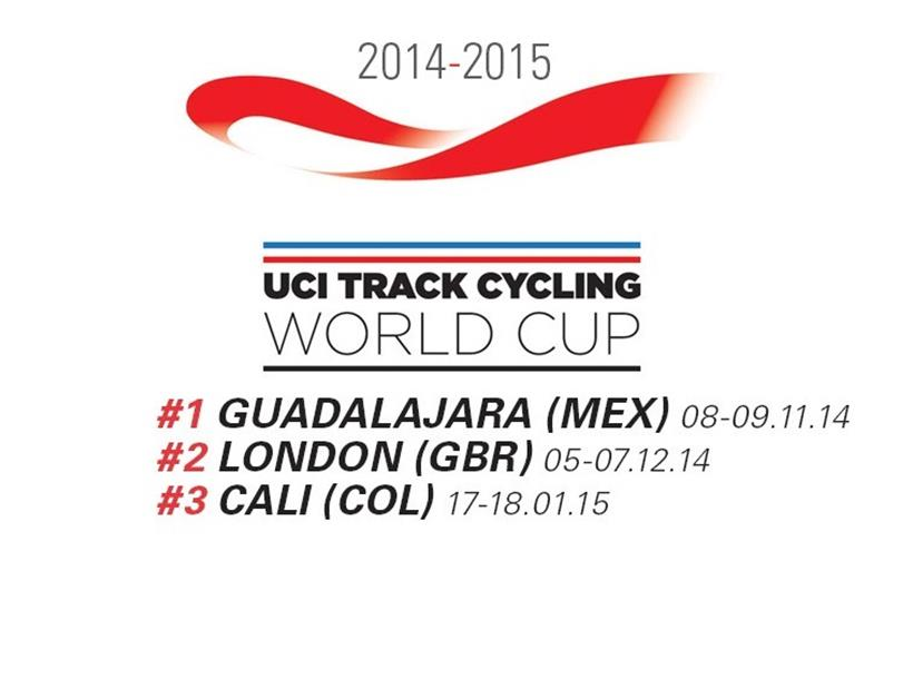 Uci World Cup pista 2014 2015