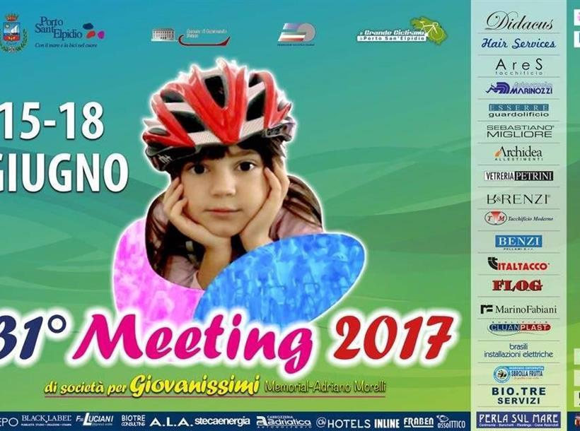 Locandina Meeting Nazionale Giovanissimi FCI
