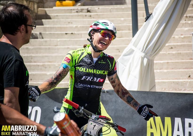 Am Abruzzo Bike Marathon 06082017 Arrivo Fumagalli