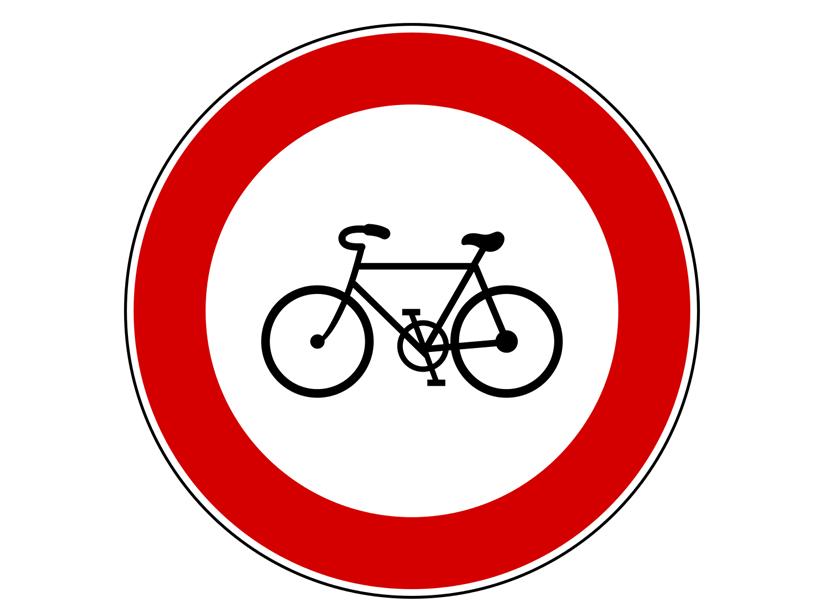 divieto bici per tesseramento