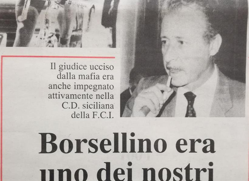 Testata Borsellino
