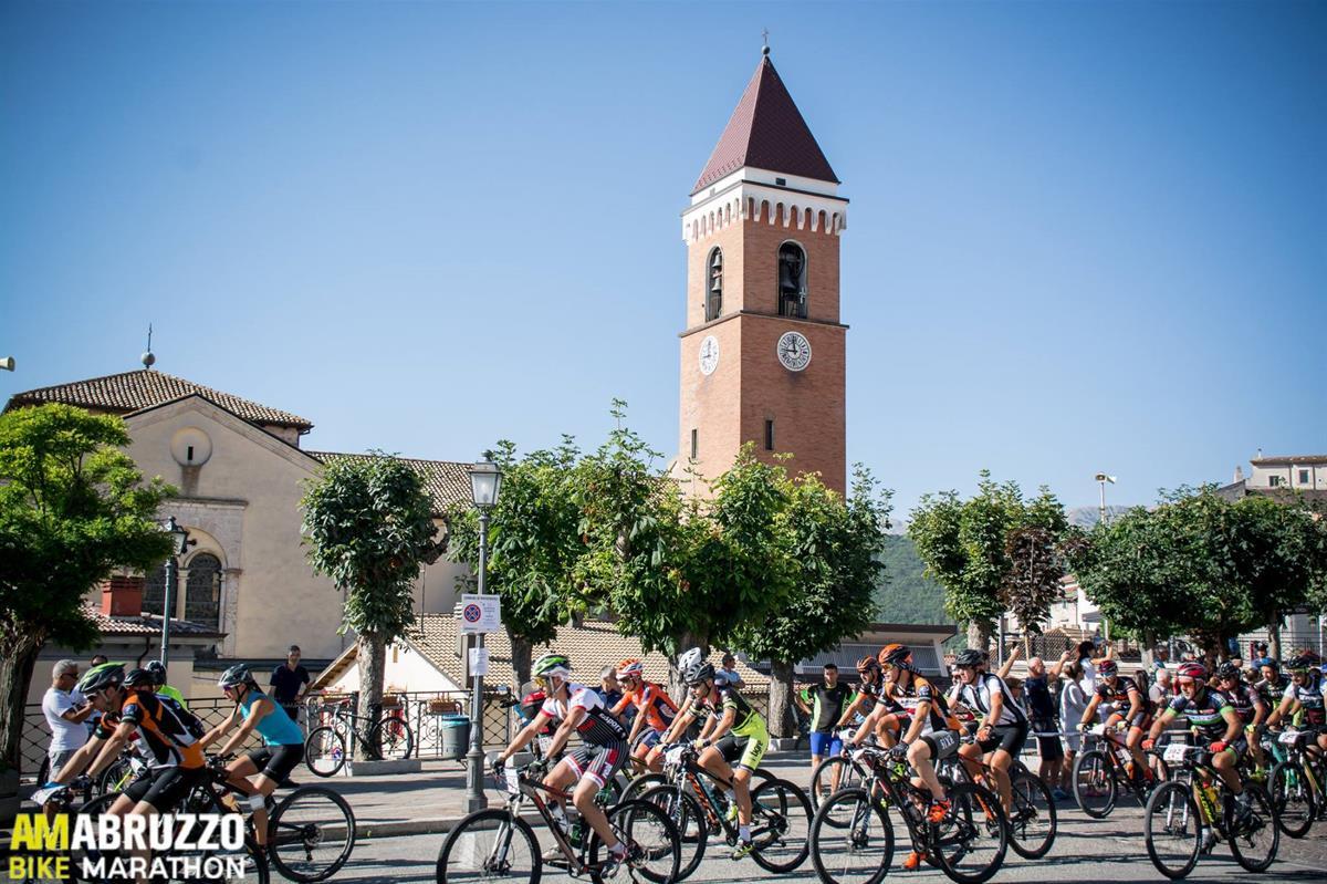 Am Abruzzo Bike Marathon 06082017 Partenza