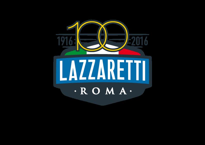Logo Lazzaretti100 Quadricromia