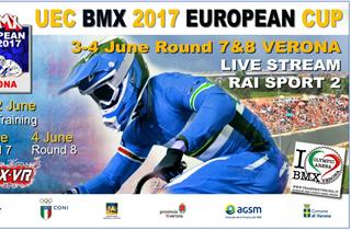 Preview Pic LIVE BMX European Cup Rounds 7 8 – Verona Italy
