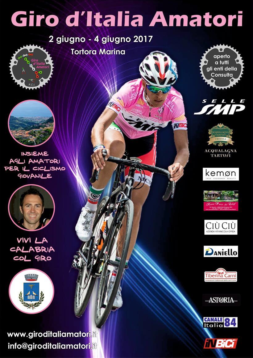 Giro D'italia Amatori 2017 Locandina