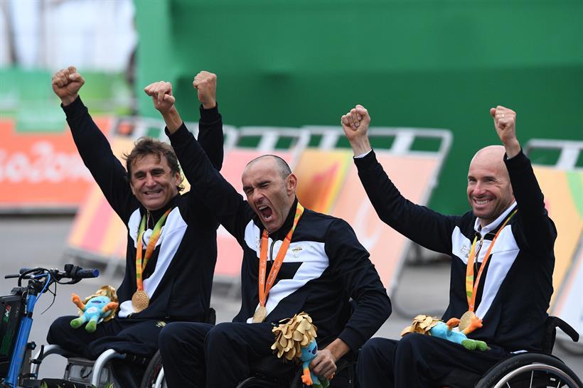 Trio paralimpico 2016