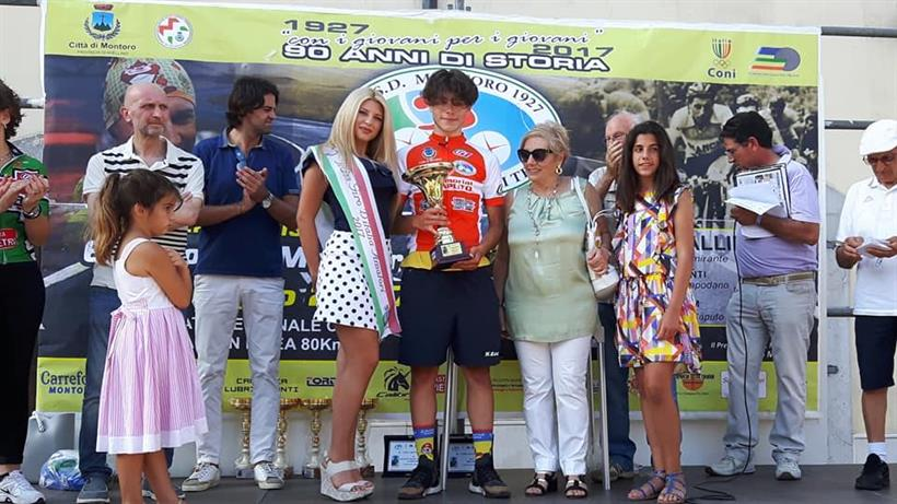 Coppa Montoro 25062017 Podio Premiazioni