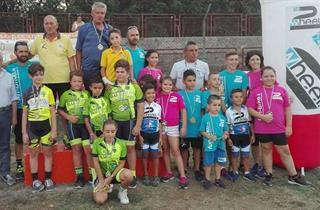 Amaseno Podio Finale Giovanissimi Mtb Dei Team Partecipanti