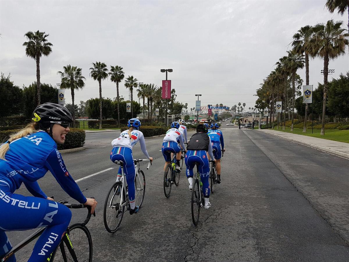 Los Angeles Pista Training
