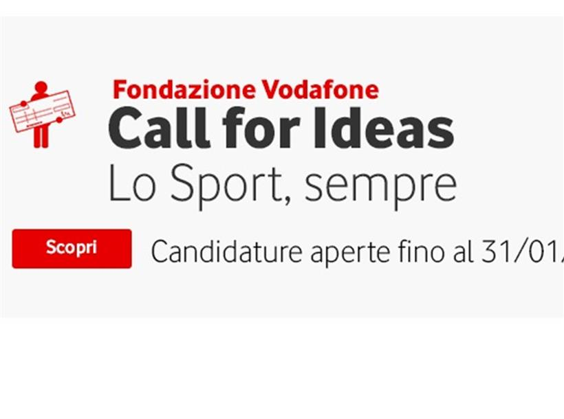 Call for Ideas Fondazione Vodafone