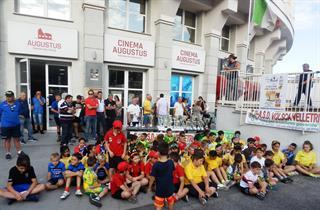 Velletri I Baby Ciclisti In Attesa Dlle Premiazioni